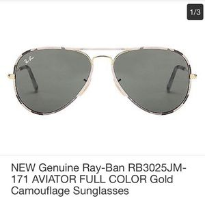 Ray Ban Aviator full color  RB3025 like new ⭐️